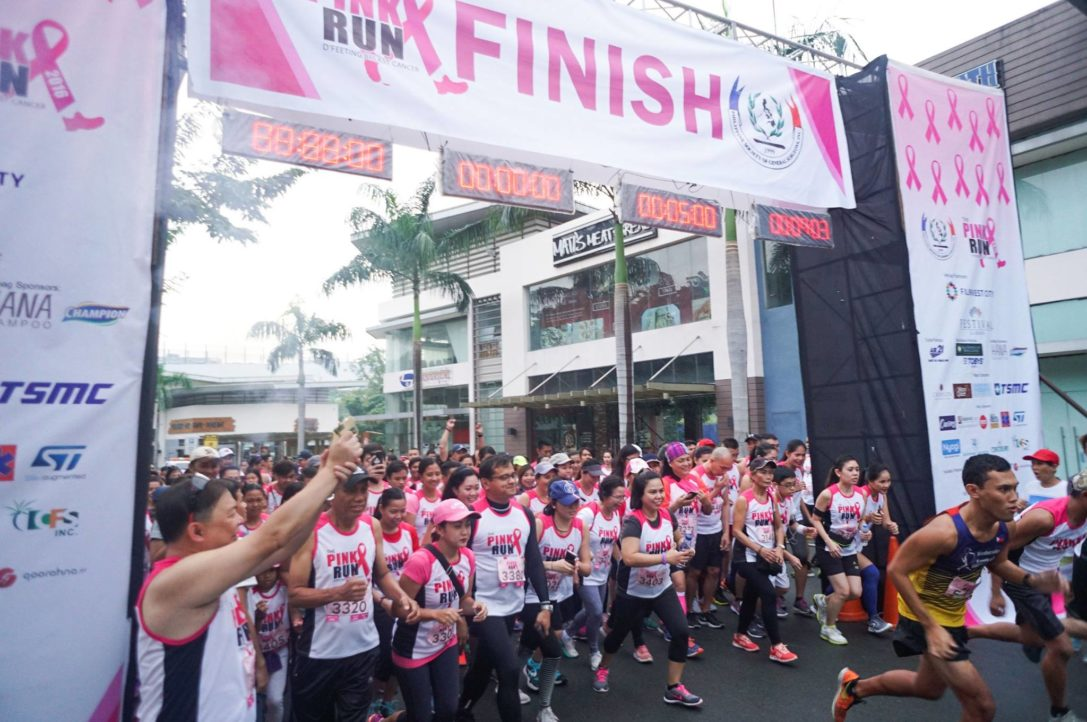 The Pink Run – D'Feeting Breast Cancer (Oct. 17, 2017)