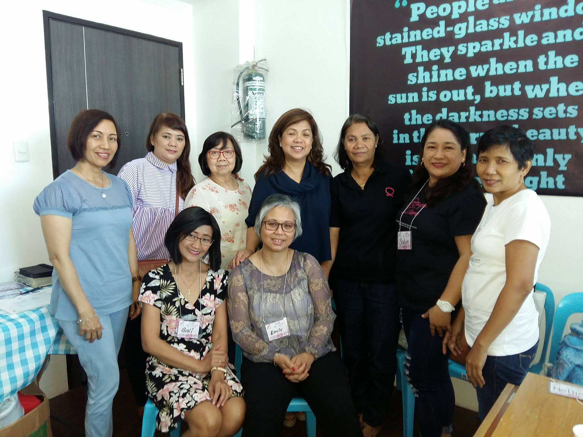 Spiritual Care Session (Jan. 12, 2018)